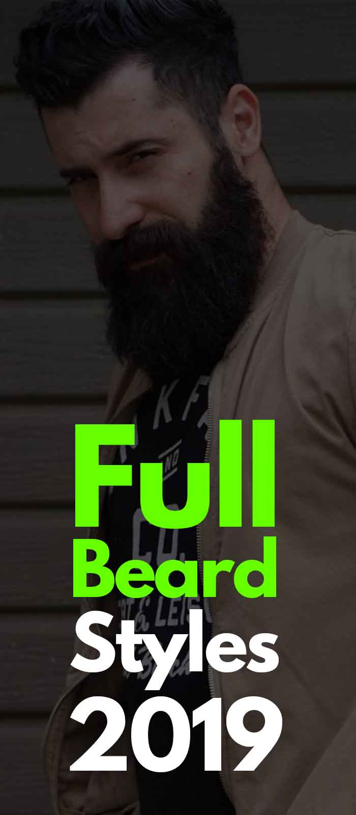 Classic Full Beard Style that cant be ignored!