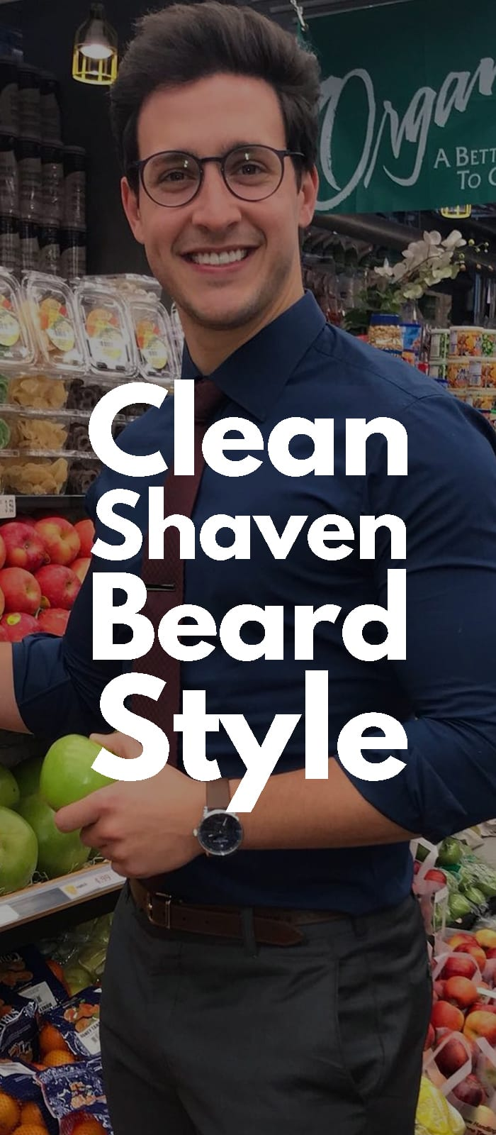 Clean Shaven Beard Style!