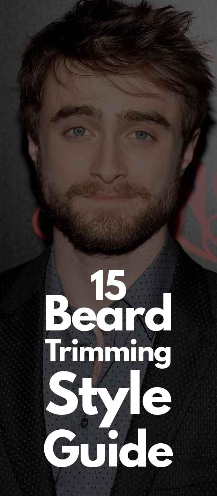 Daniel's Hollywood Beard style!