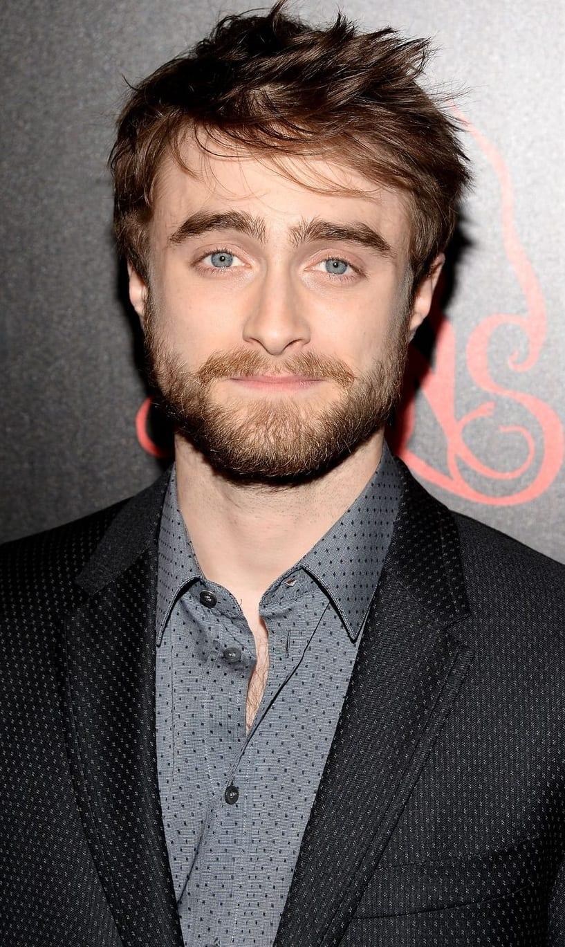 Daniel's Hollywood Beard style