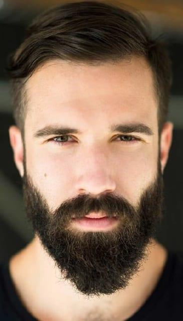 Ducktail Beard Look for men