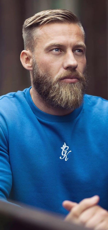 Ducktail Beard Style for Men