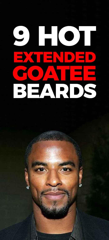 Extended Goatee Styles for men!