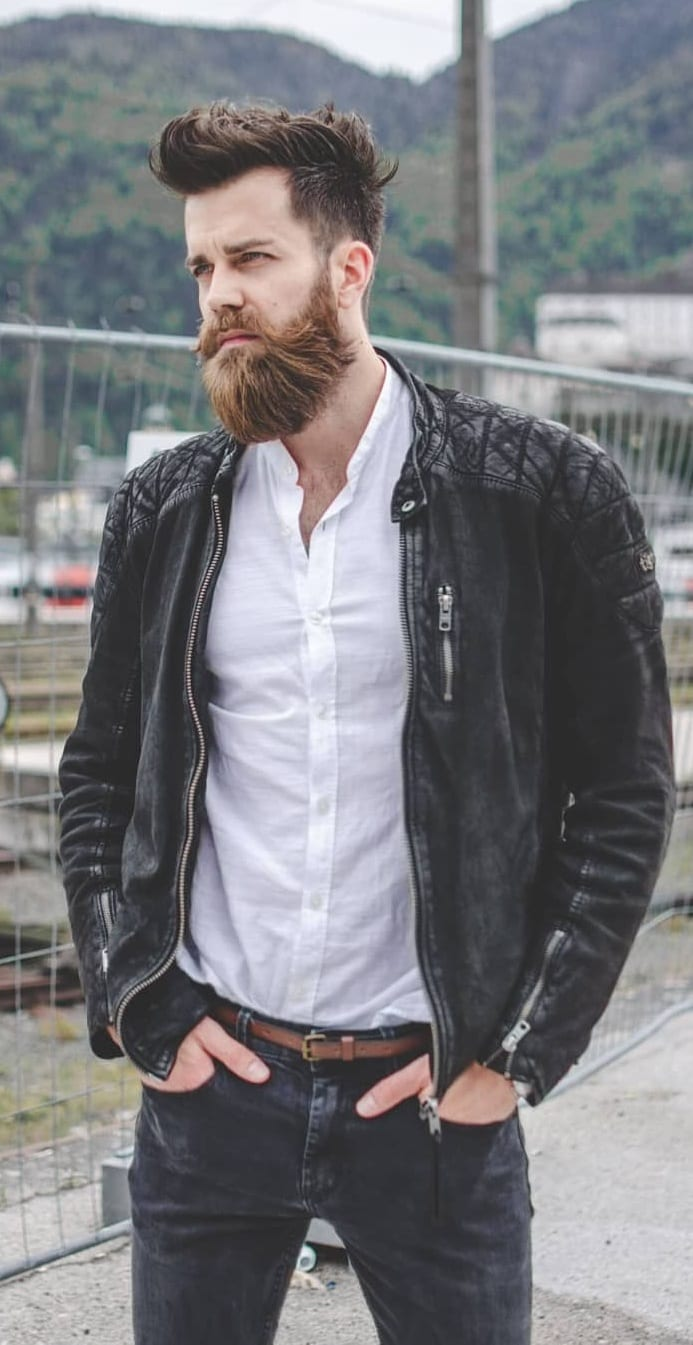 Face Shape Guide To Choose The Best Beard Style For Men