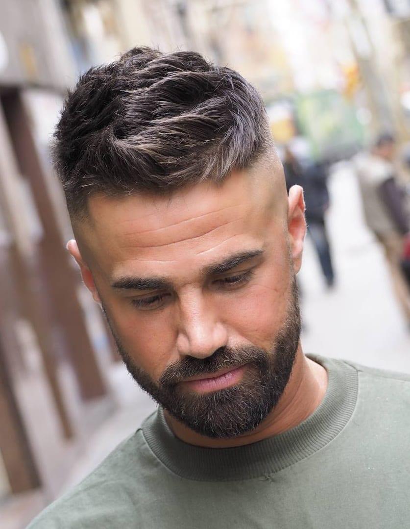 Fade Haircut and beard ideas for men