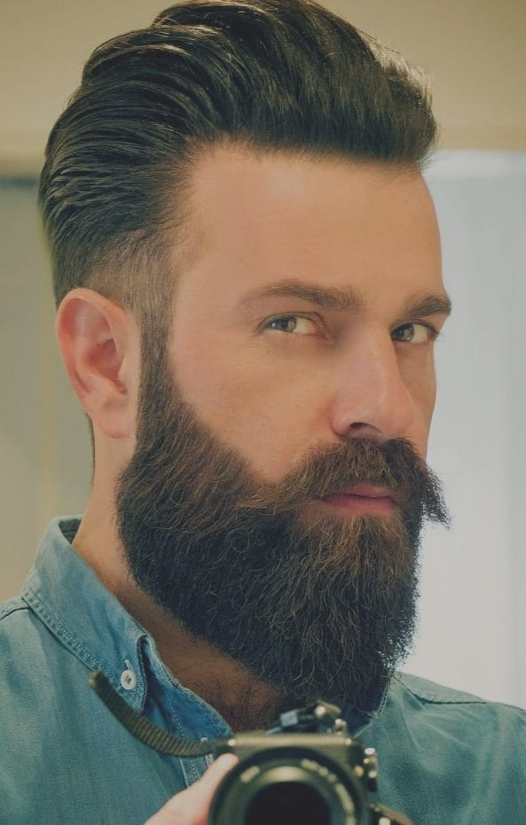 Full Beard style for men