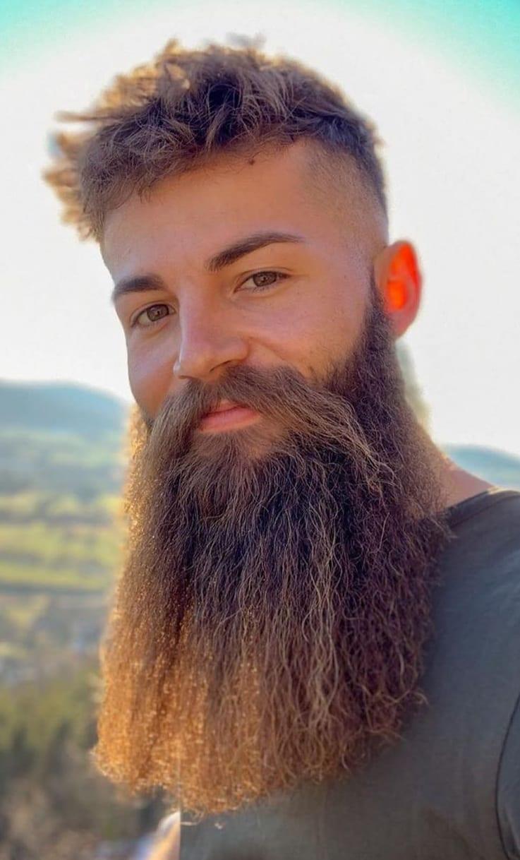 Full Beast beard for men