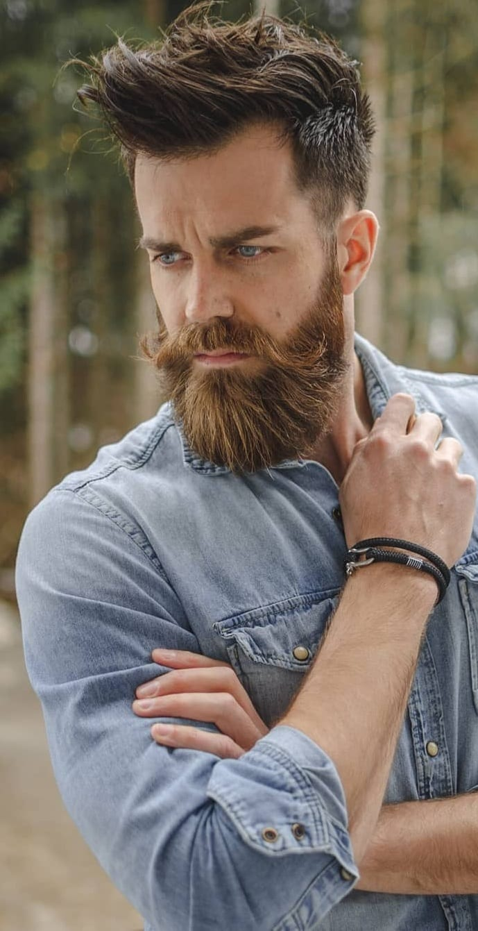 Garibaldi Beard for Hunky Mens