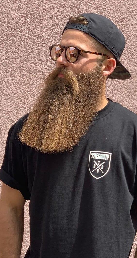 Garibaldi Beard for Men to try