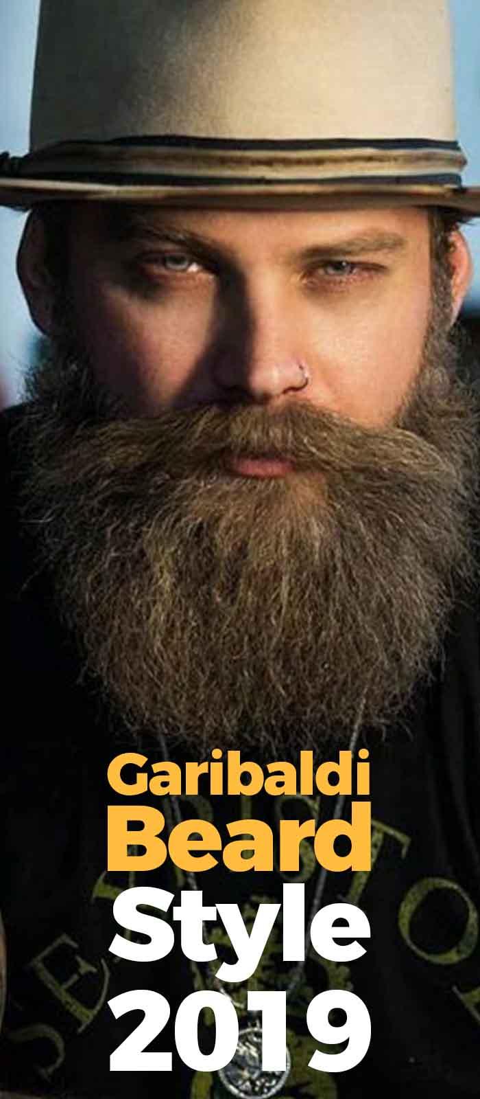 Garibaldi Beard for men to style!