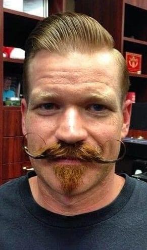Handlebar Mustache and Goatee Styles