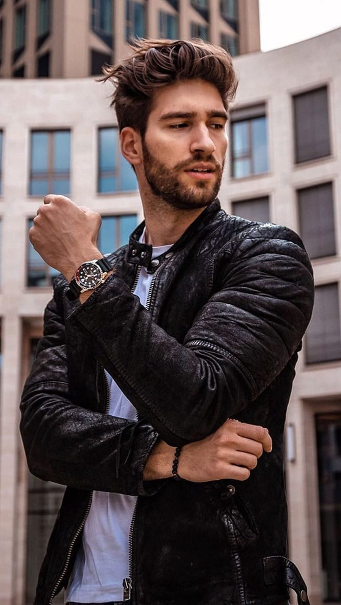 Heavy Stubble Beard Style For Men