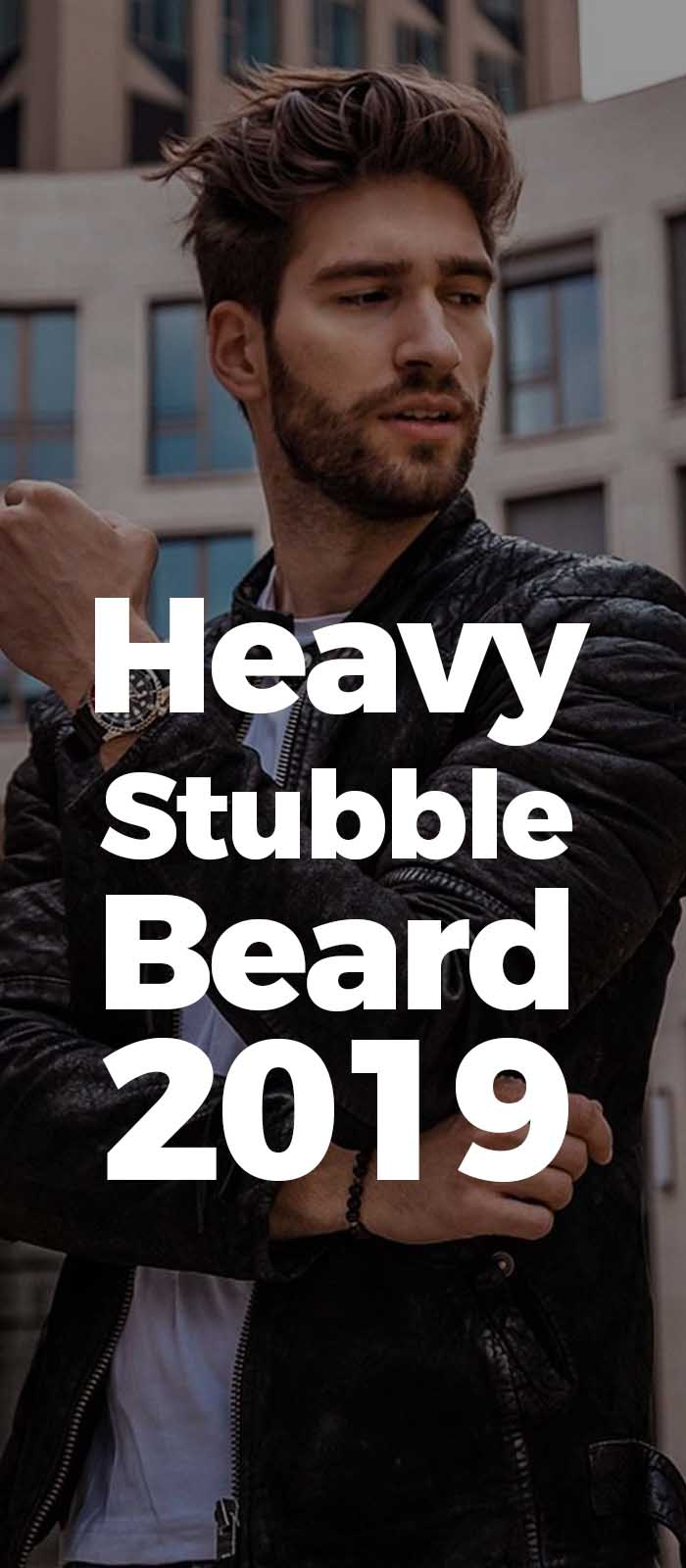 Heavy Stubble Beard!