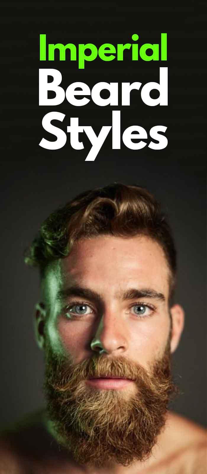 Imperial Beard styles for men!