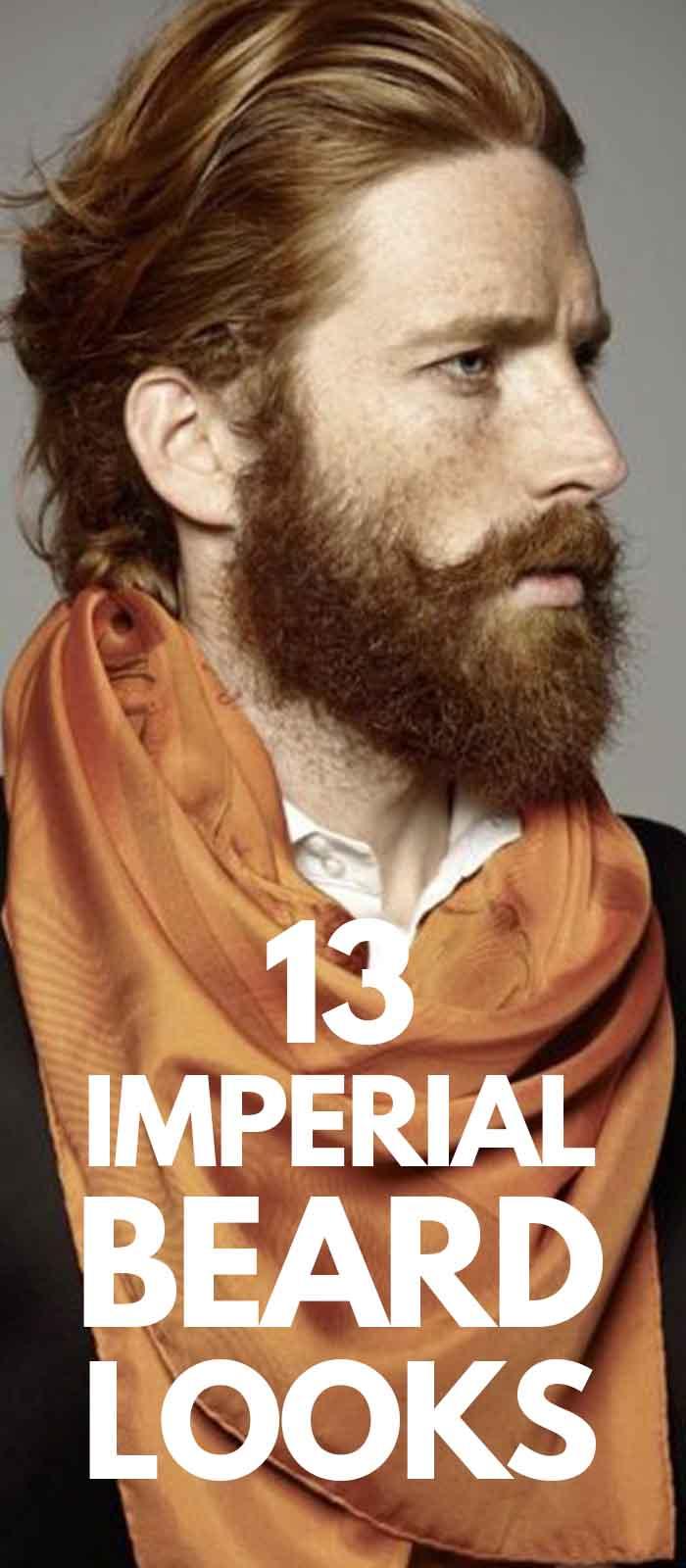 Imperial Beard look for men!