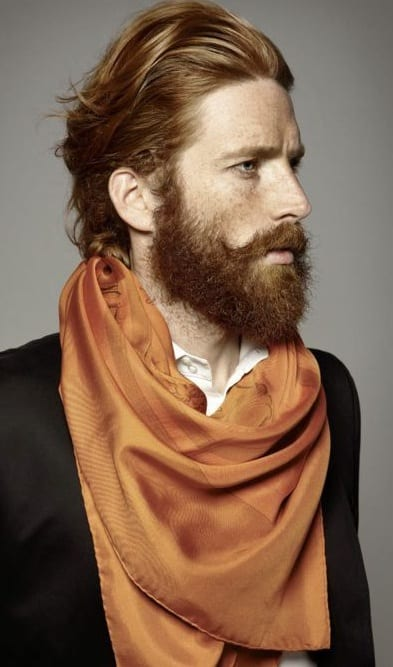 Imperial Beard look for men