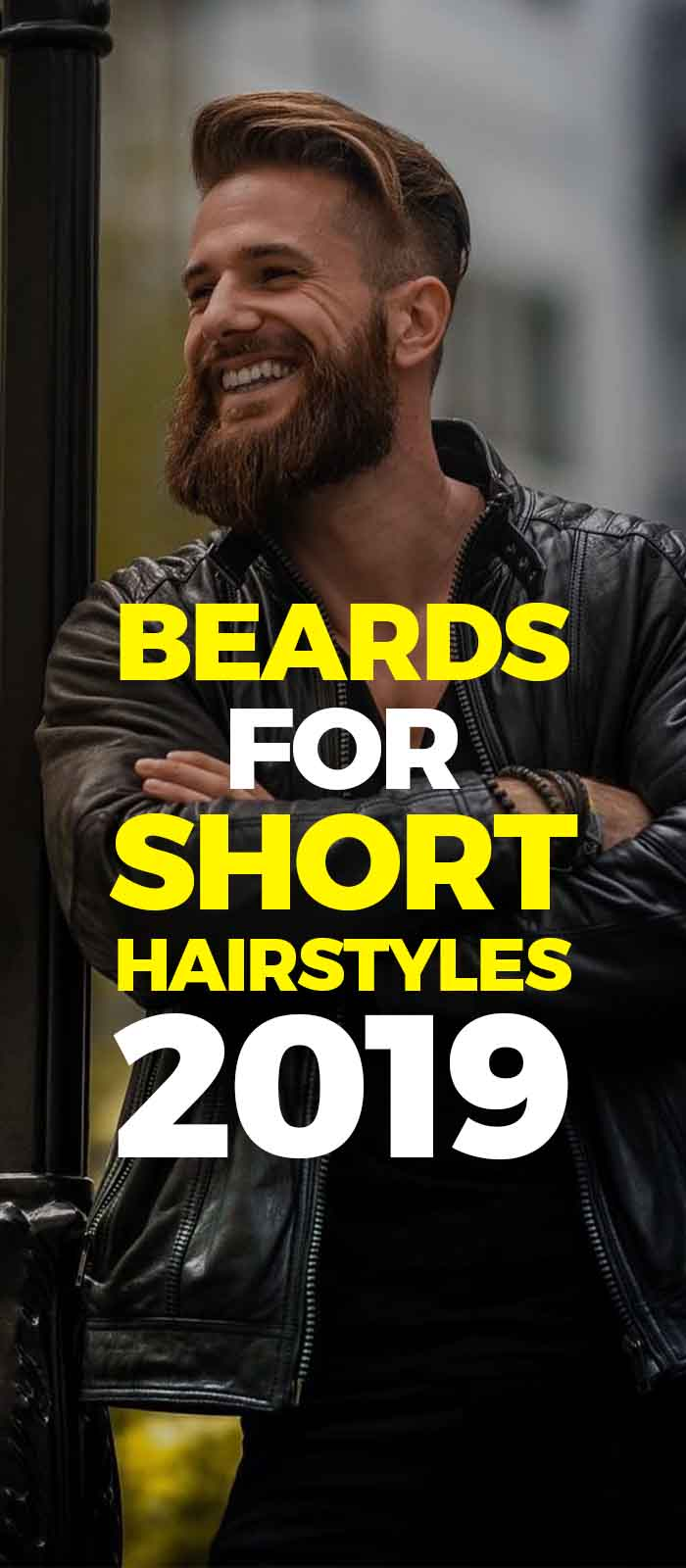 Long Hair short side with thick beard that create magic!