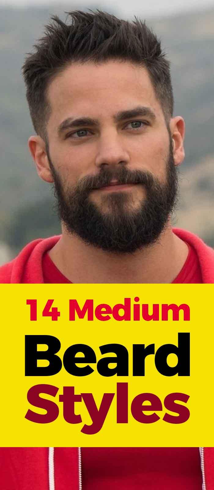 Medium Beard style for men to try!