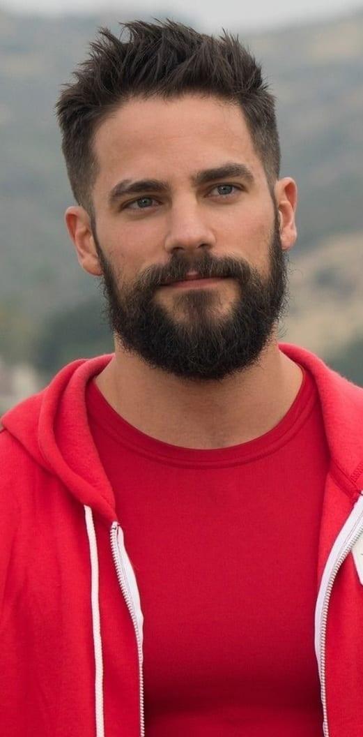 Medium Beard style for men to try