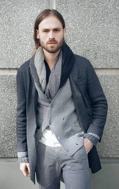 Medium Stubble beard styles