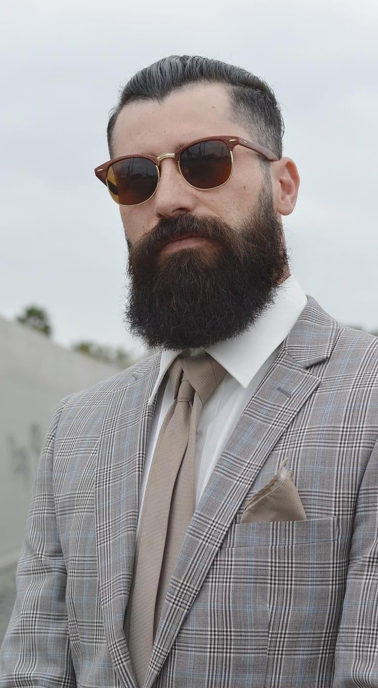 Mens Thick Beard Styles