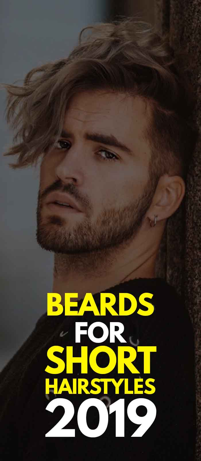 Perfect Combination of Short Side Long hair with beard!