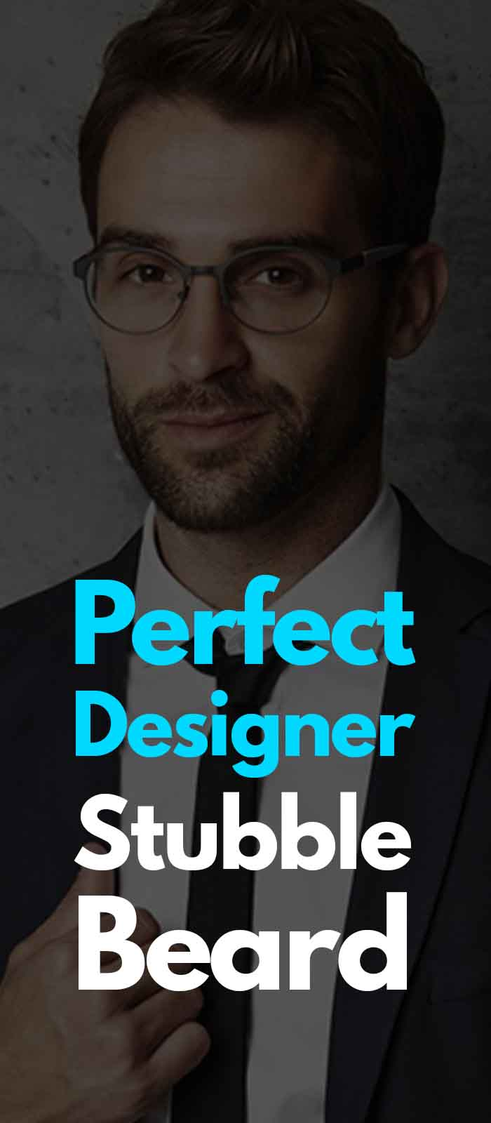 Perfect Designer stubble for men!