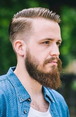 Perfect Ducktail Beard look for men
