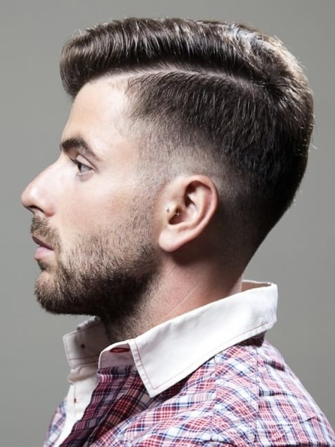 Perfect Fade Haircut and Beard Combination for men