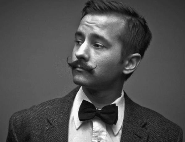 Petite Handlebar Moustache 2017