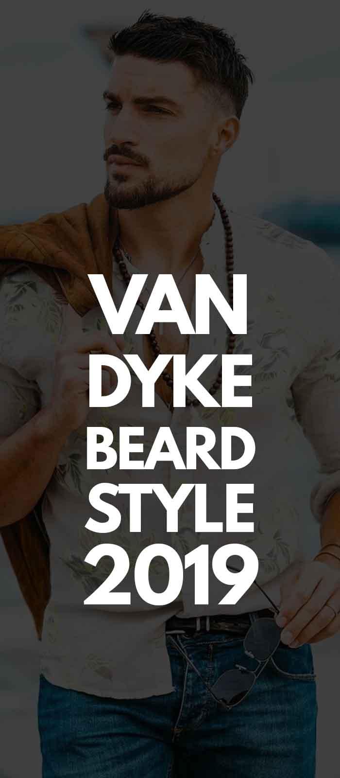 Printed Shirt,Van Dyke beard and sunglasses!