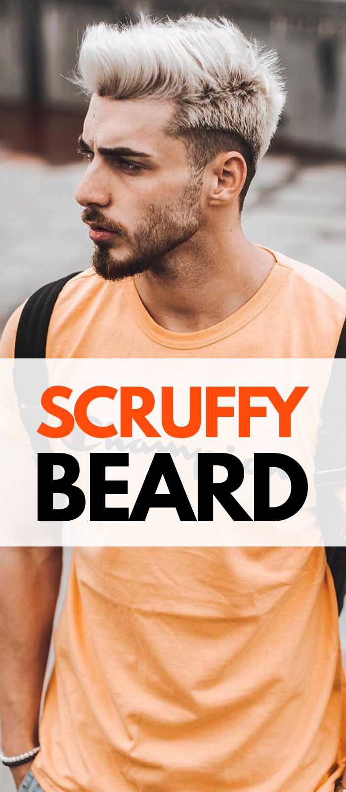 Scruffy Beard.