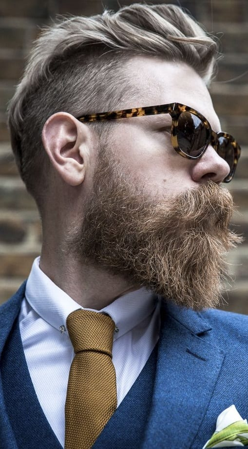 Sexy Mustache to compliment your Bandholz Beard