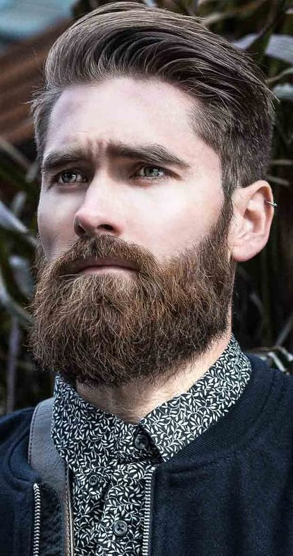 Sexy and thick beard styles for men
