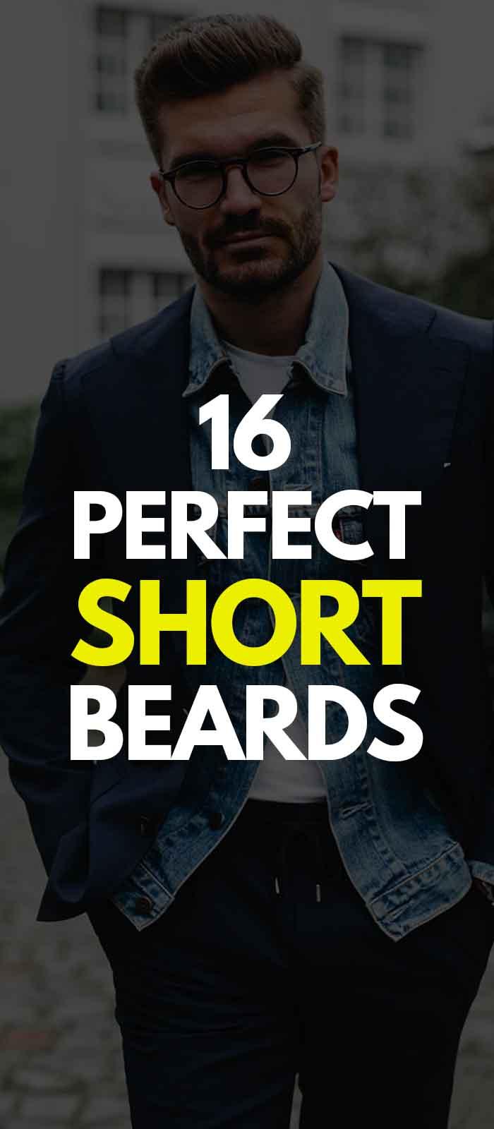 Short Beard styles for men!