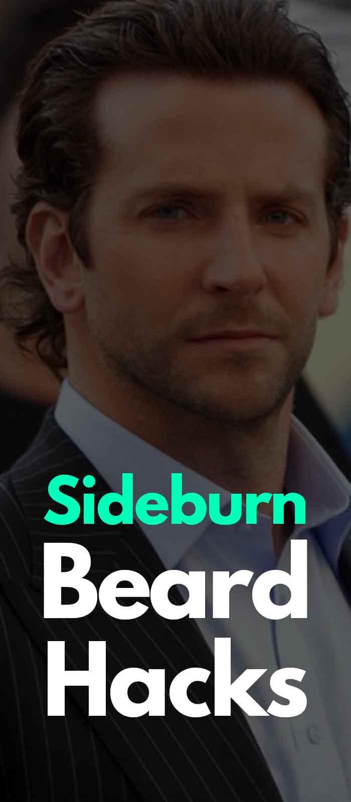 Short Sideburn for men to try!