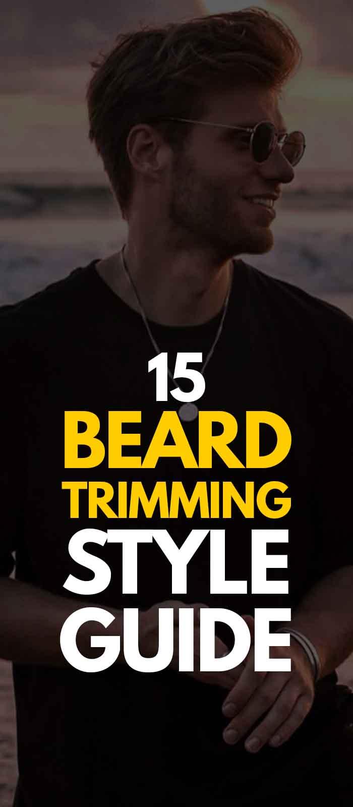 Short Stubble beard style, Black sunglasses for men!