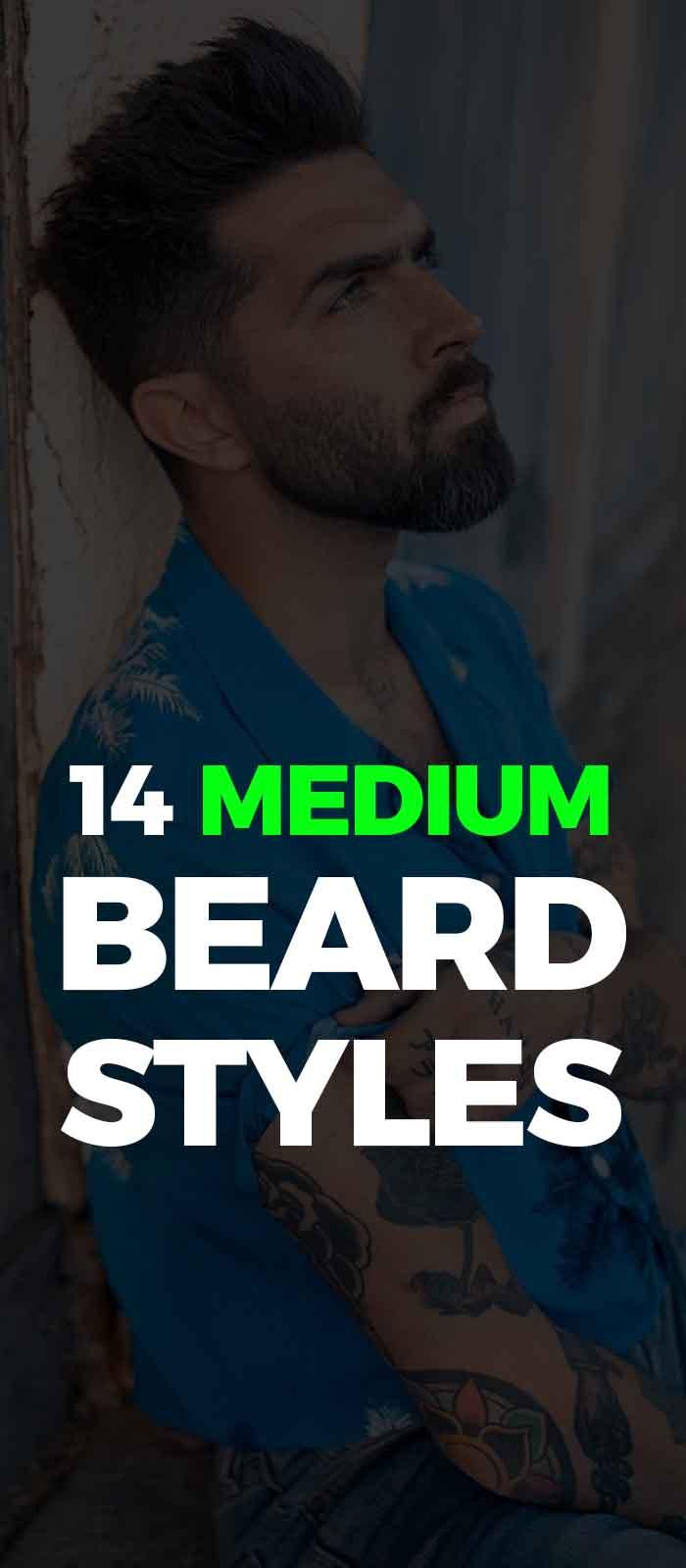 Stunning Medium Beard look for men!