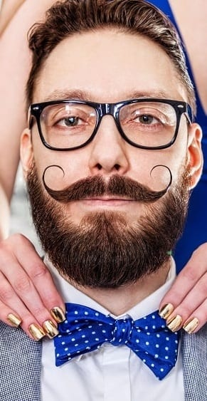 The Vintage Handlebar Moustache