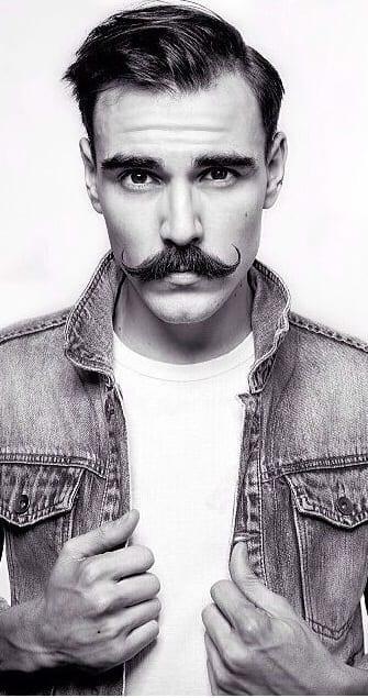 The Vintage Handlebar Moustache.