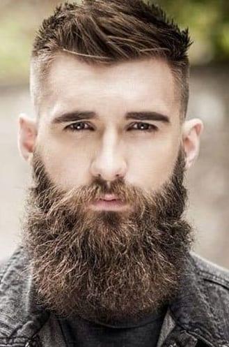 Thick Long Garibaldi Beard for men