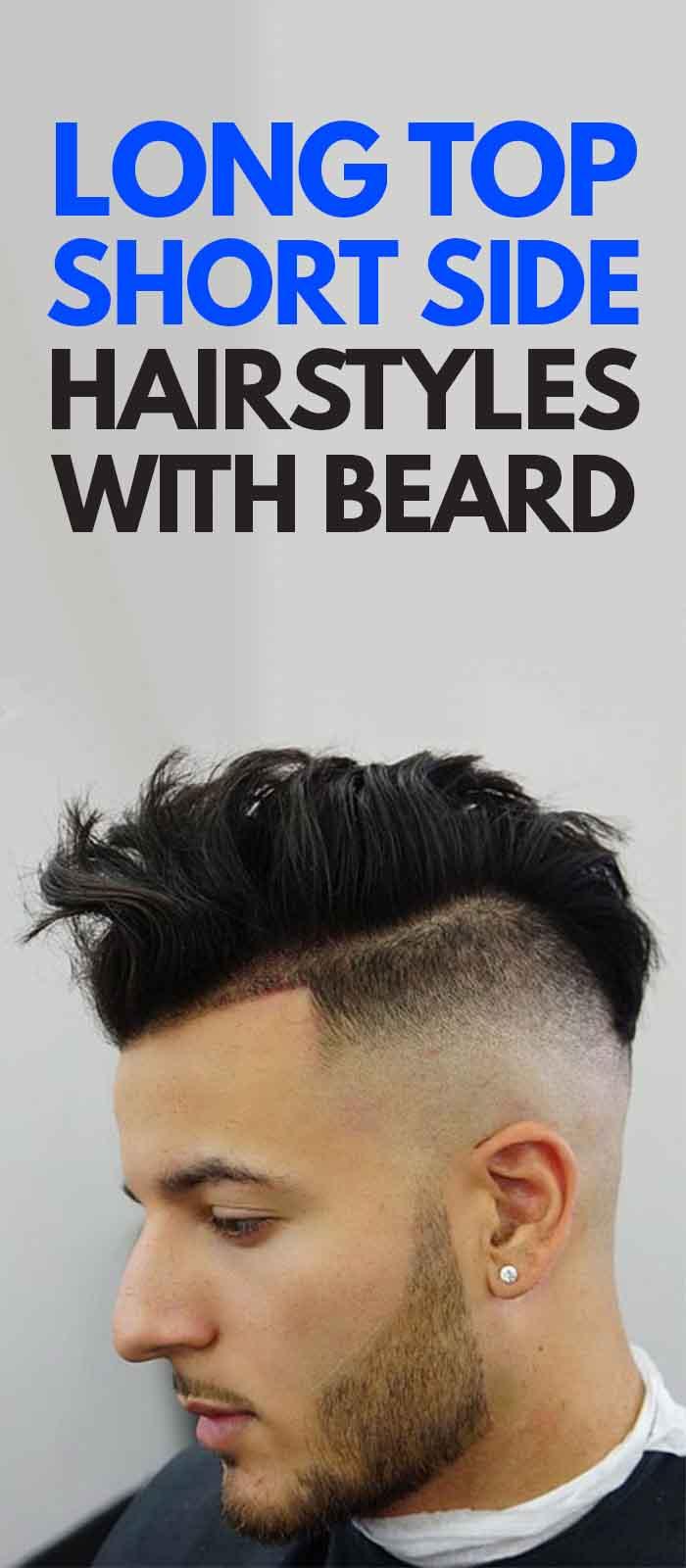 Undercut Haircuts Messy with beard!