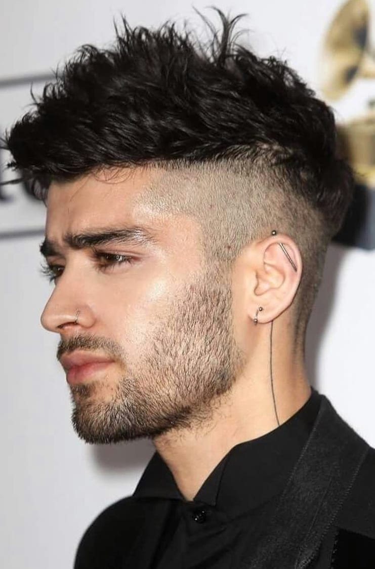 Sensational Long Top Short Sides Hairstyle 11 Beard That Suits This Style Natural Hairstyles Runnerswayorg