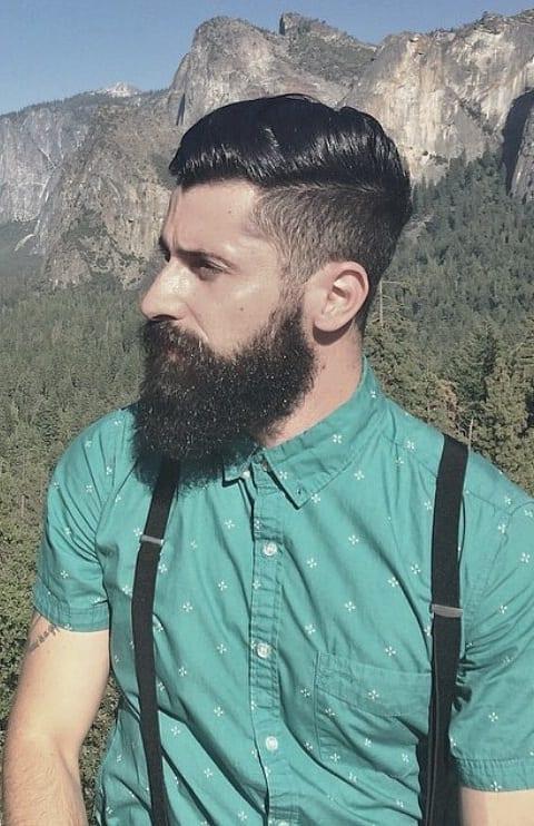 Ways to style your bandholz beard