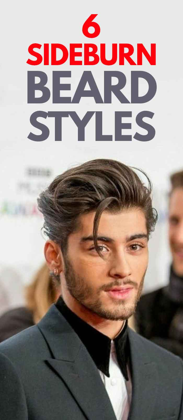 Zayn Malik Long Sideburn Style for men!
