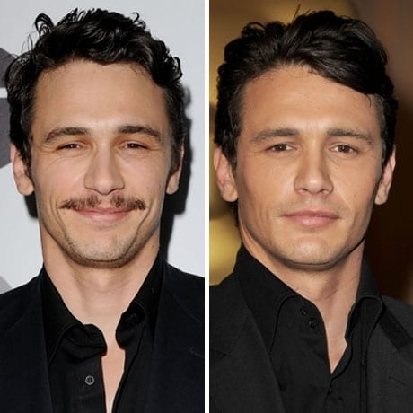 before-and-after-celebrity-with-moustache-clean-shave-look