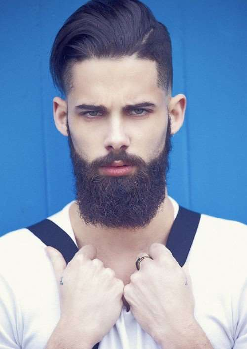 faded-hair-with-full-beard