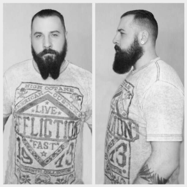 french-fork-beard-for-short-hair