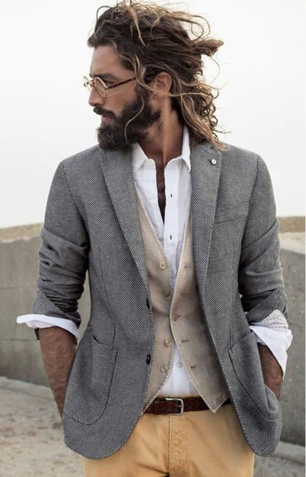 full-beard-for-pony-tail
