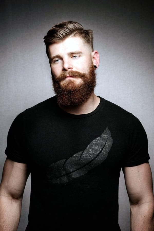 full-beard-with-faded-hairstyle